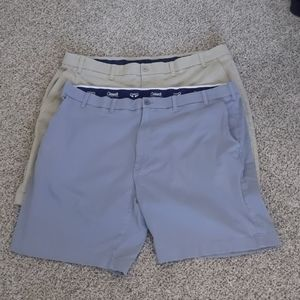 Two pairs 44w Roundtree and Yorke shorts